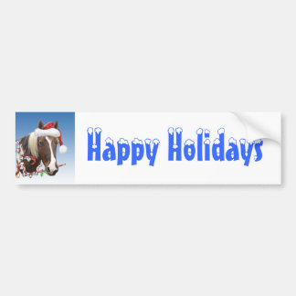 Christmas With Rodger Car Bumper Sticker