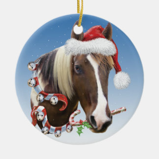 Christmas With Rodger Ceramic Ornament