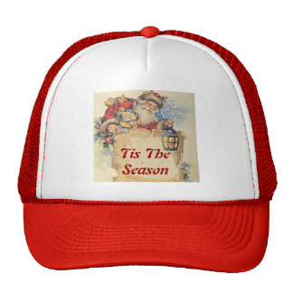 Christmas With Santa Claus. Customizable Items. Trucker Hat