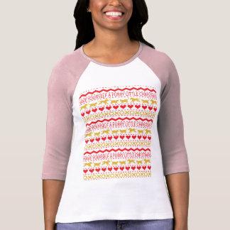 "Christmas Womens ""Ugly Sweater"" TShirt Long Sleeve"