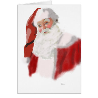Christmas wonder of a child. card