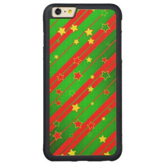Christmas Carved® Maple iPhone 6 Plus Bumper Case