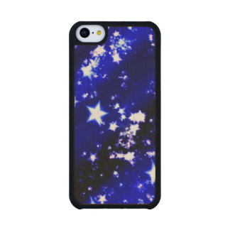 Christmas Carved® Maple iPhone 5C Slim Case
