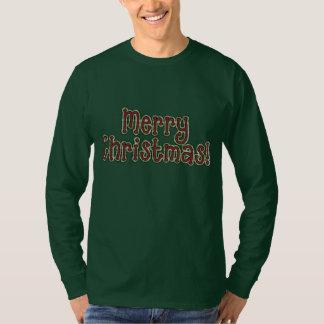 Christmas word art Holiday t-shirt