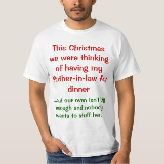Christmas wordplay - mother-in-law T-Shirt