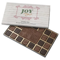 Christmas Words 45 Piece Box Of Chocolates