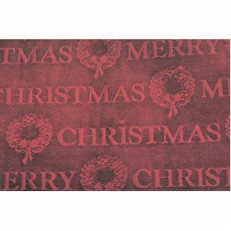 Christmas wrap photo cutouts