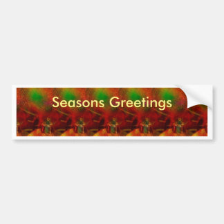 Christmas Wrapping 5 Bumper Sticker