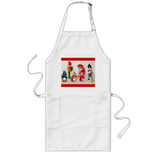 Christmas Wrapping Decorating Cooking Long Apron
