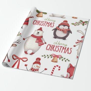 Christmas Themed Christmas Wrapping Paper