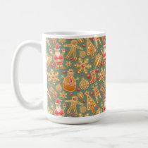 Christmas Wrapping Paper Themed Mug