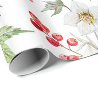 Christmas wrapping papper (White) Wrapping Paper