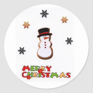 Christmas Wrapping Sticker