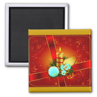 Christmas Wrappings Refrigerator Magnet
