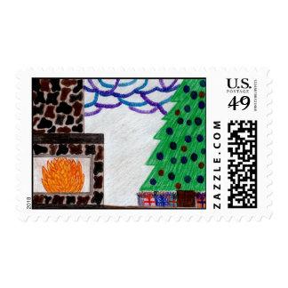 """Christmas Wrappings"" Postage"