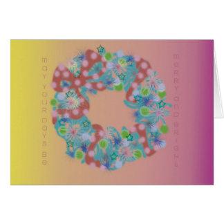 christmas wreath1 card