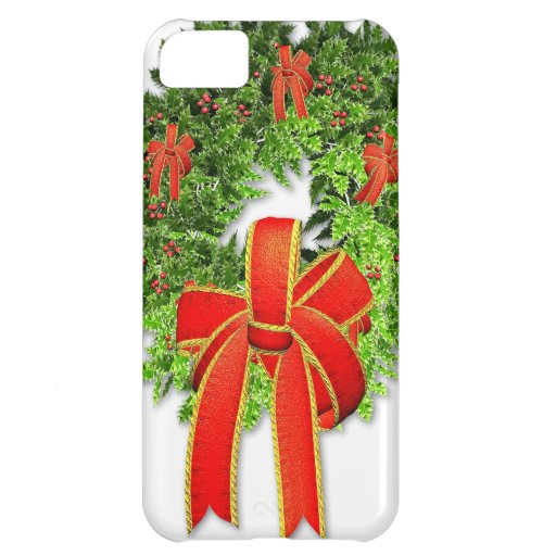 Christmas Wreath 1 iPhone 5C Cover