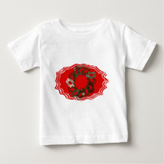 Christmas Wreath 2 Baby T-Shirt