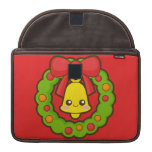 Christmas Wreath and Bell Sleeve For MacBook Pro