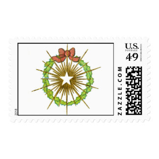 Christmas Wreath and Star Stamps