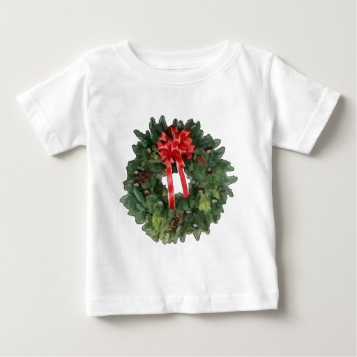 Christmas Wreath Baby T-Shirt