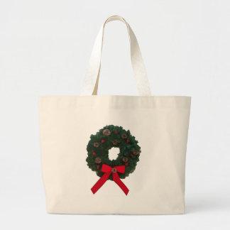 Christmas Wreath Bags