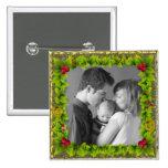 Christmas Wreath Buttons