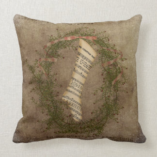 Christmas Wreath by MarysMontage@etsy.com Pillow