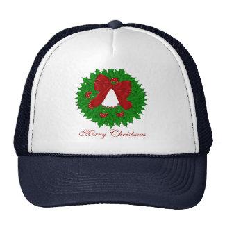 Christmas Wreath Cap Trucker Hat