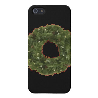 Christmas Wreath Cases For iPhone 5