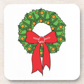 CHRISTMAS WREATH CHRISTMAS COASTER