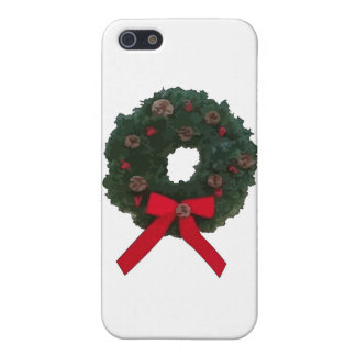 Christmas Wreath Cover For iPhone 5
