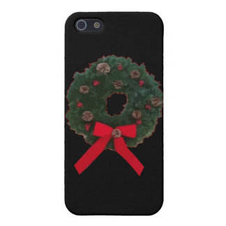 Christmas Wreath Covers For iPhone 5