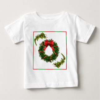 Christmas Wreath Design Collection - Gifts Baby T-Shirt