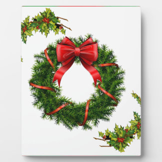 Christmas Wreath Design Collection - Gifts Plaque