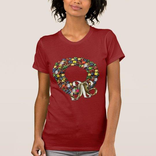 Christmas wreath design T-Shirt