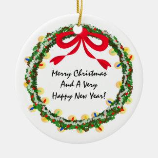 Christmas Wreath DIY Ornament