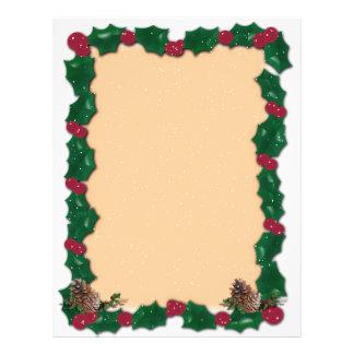 Christmas  Wreath Custom Flyer