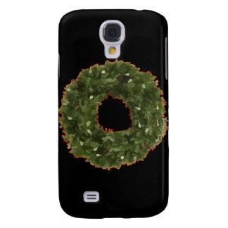 Christmas Wreath Galaxy S4 Case