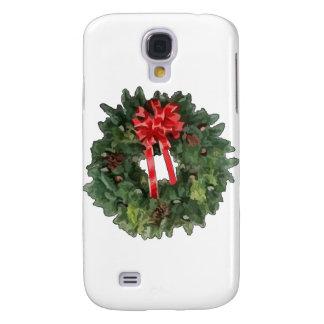 Christmas Wreath Galaxy S4 Covers