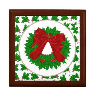 Christmas Wreath Gift Box