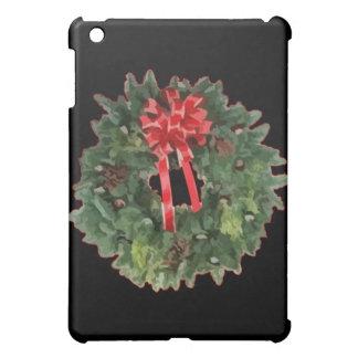Christmas Wreath iPad Mini Covers