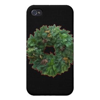 Christmas Wreath iPhone 4 Cases