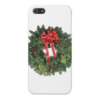 Christmas Wreath iPhone 5 Cases