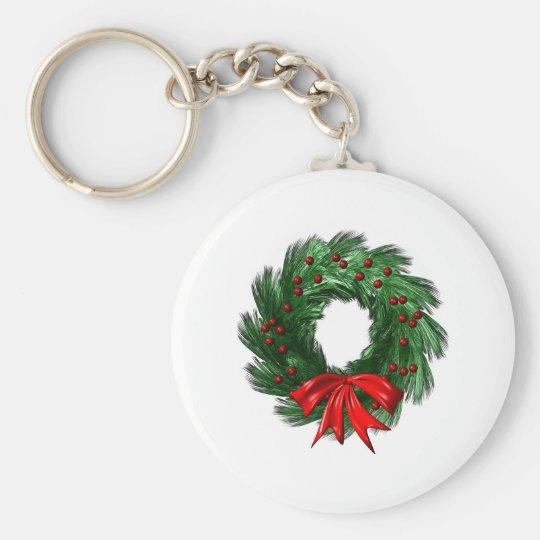 Christmas  Wreath Keychain
