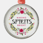 Christmas Wreath Making Spirits Bright Ornaments