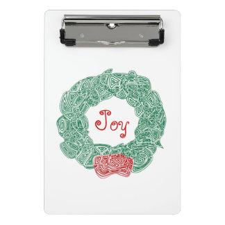 Christmas Wreath Mini Clipboard