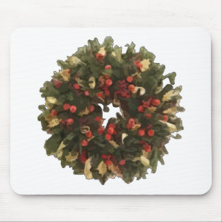 Christmas Wreath Mouse Pads