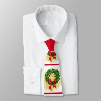 Christmas Wreath Neck Tie