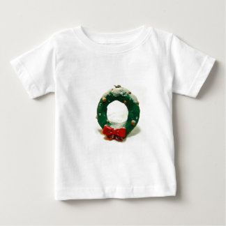 Christmas Wreath Ornament Baby T-Shirt